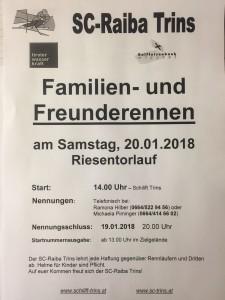 Familien- und Freunderennen
